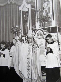 D. Henrique Golland Trindade na bênção abacial de D. Roberto Fluck