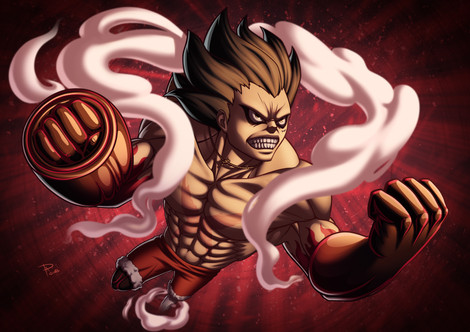 Luffy Snake Man