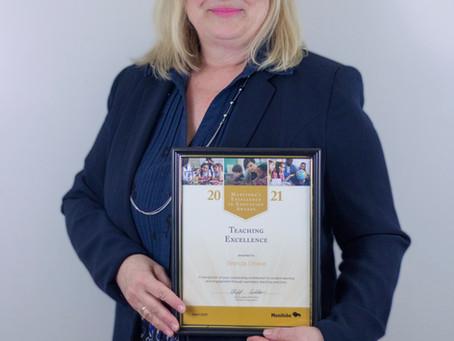 Award-Winning Teacher - St. Maurice's Brenda Grieve