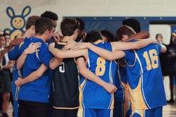 Volleyball Huddle