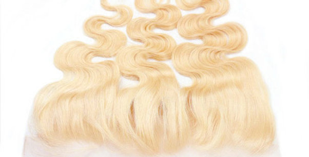 Luxury #613 Body Wave 13x6 pre-plucked Frontal transparent lace