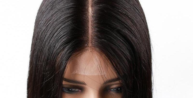Straight Closure Lace Wig