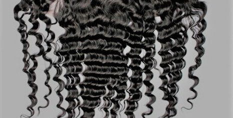 RAW Burmese Curly Frontal