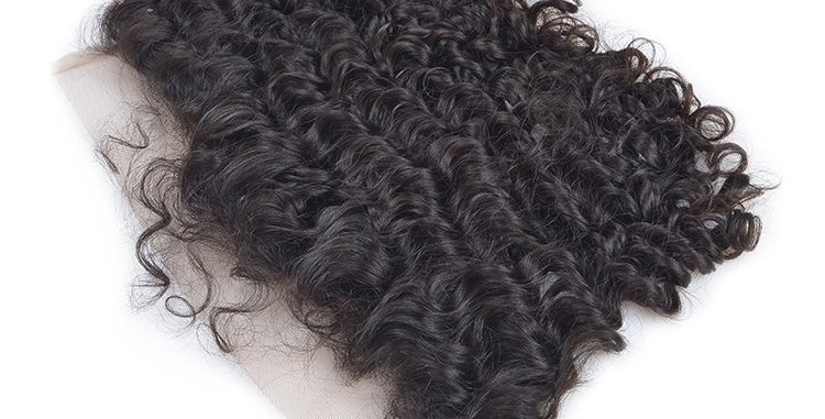 RAW Indian Curly frontal