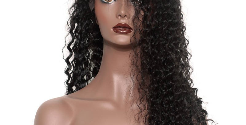 Italian Wave pre-plucked Frontal Swiss Lace Wig
