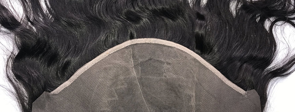 Luxury Body Wave 13x6 pre-plucked Frontal transparent lace