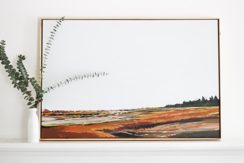 Bakers Island (Flipped) | 24x36 | Original on Canvas Framed