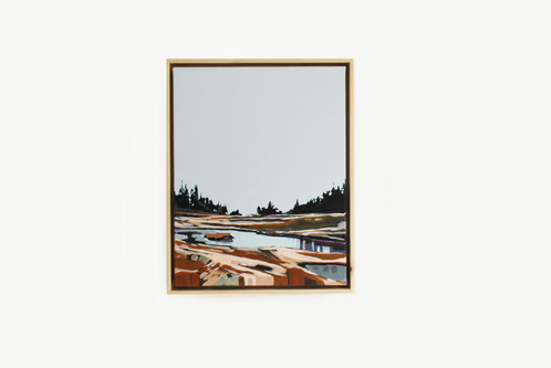 Deer Isle Small | 16x20 | Original on Canvas Framed | Wall Art ...