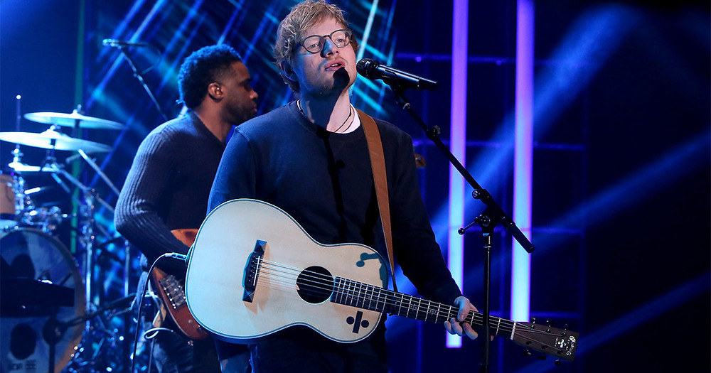 Ed Sheeran Performs 'Shape Of You' On Ellen
