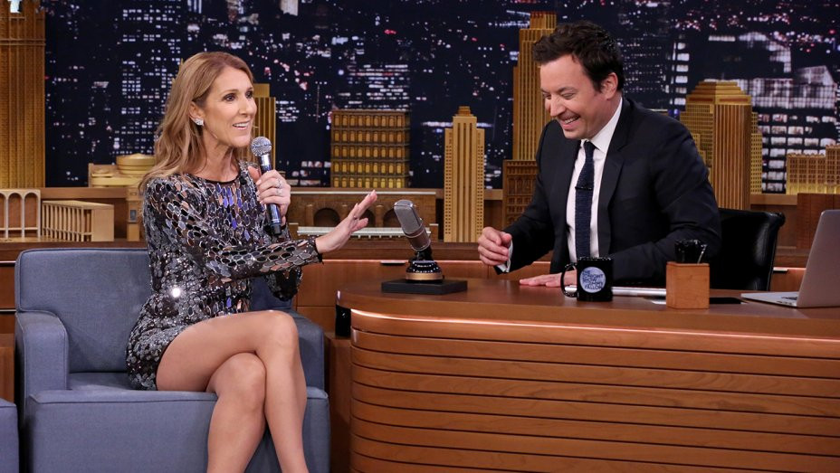 Watch Celine Dion Impersonates Cher, Sia And Rihanna On The Tonight Show With Jimmy Fallon