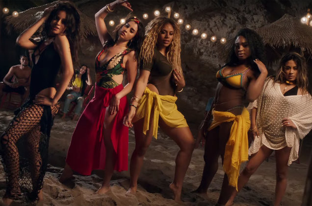Fifth Harmony Hit The Beach With Fetty Wap For 'All In My Head (Flex)' Music Video