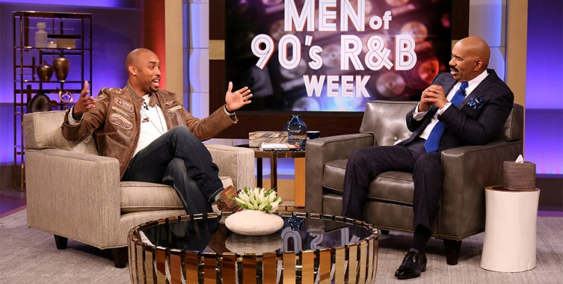 Montell Jordan Performs On Steve Harvey's 'Men of '90s R&B Week'