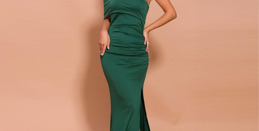 Elegant Green Evening Gown
