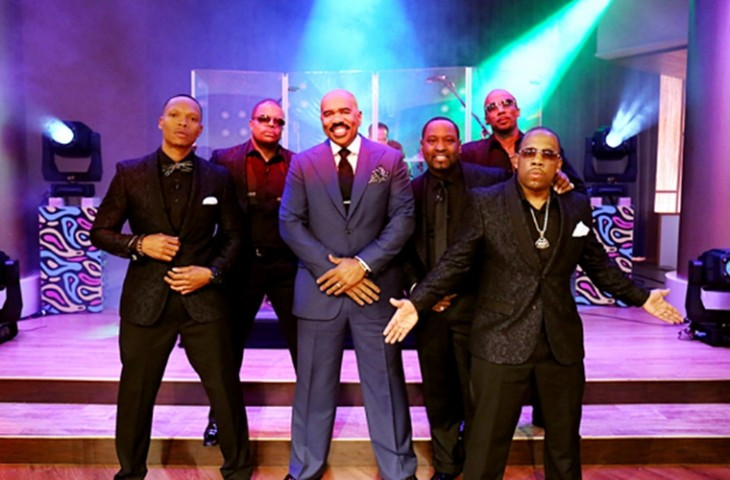 Check out New Edition's Latest Performance On Steve Harvey's 'Men of '90s R&B Week'