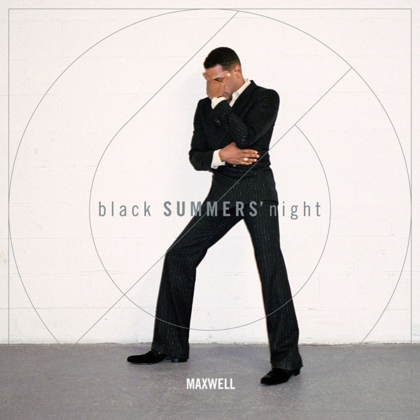 """Maxwell Brings In """"Black SUMMERS' Night"""" Cover & Tracklist"""