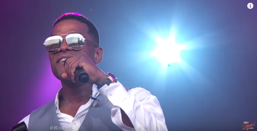 Watch Maxwell Perform 'Lake By The Ocean' On Jimmy Kimmel Live