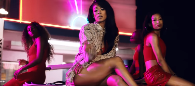 Check Out New Mila J - 'Kickin' Back' Music Video