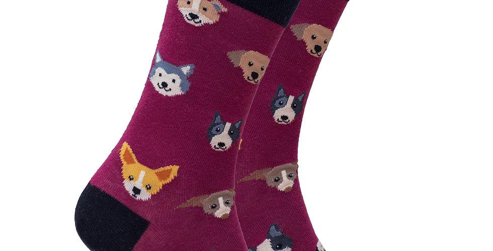 Men's Cute Dogs Socks
