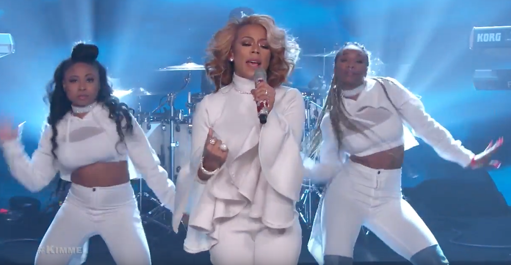 Keyshia Cole Performs New Single 'You' On Jimmy Kimmel