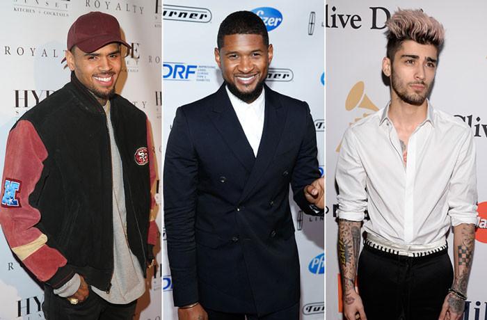 "Chris Brown Drops First Remix To ""Back To Sleep"" feat. Usher & Zayn Malik"