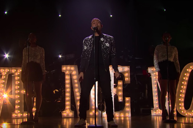 John Legend Brings 'Love Me Now' To The Late Night Show With James Corden