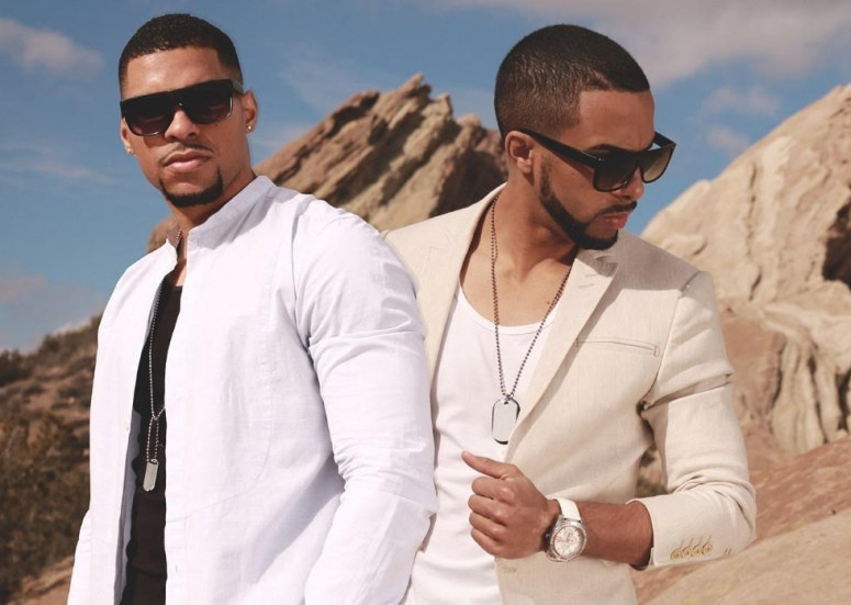 """See Latin R&B Duo Solero Delivering Chris Brown's """"Back to Sleep"""""""