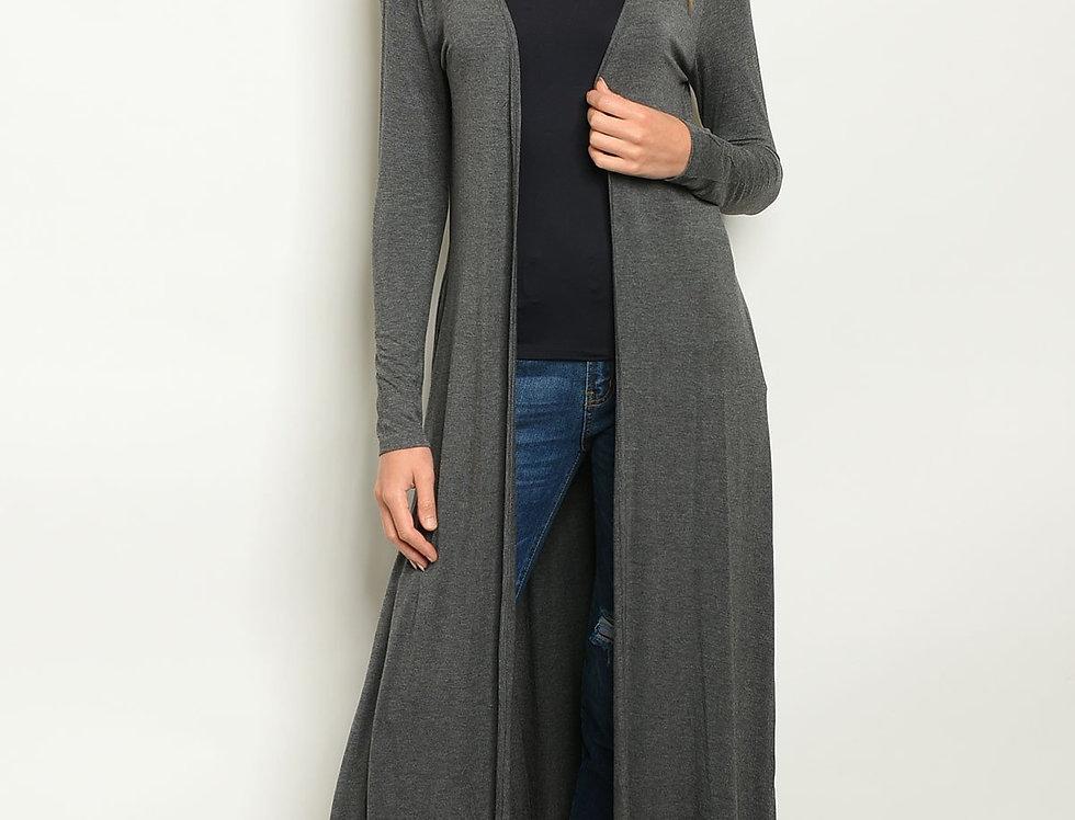 Long Jersey Cardigan