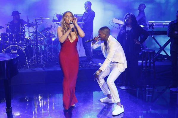 Mariah Carey Performs Latest Single 'I Don't' On Jimmy Kimmel