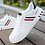 Thumbnail: Mikarause White Casual Men Leather Breathable Sneakers