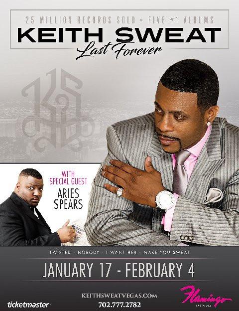 Legendary R&B Icon Keith Sweat Announces Las Vegas Residency