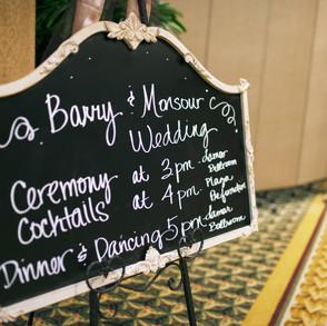 Barry+Mansour Wedding