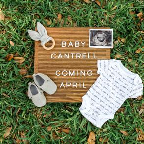 Ben+Maegan Baby Announcement