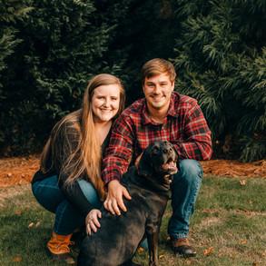 Corey+Hannah Christmas Card Session