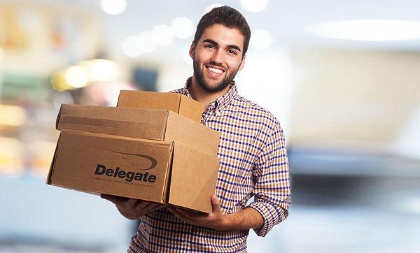 delegate courier, franchise opportunity