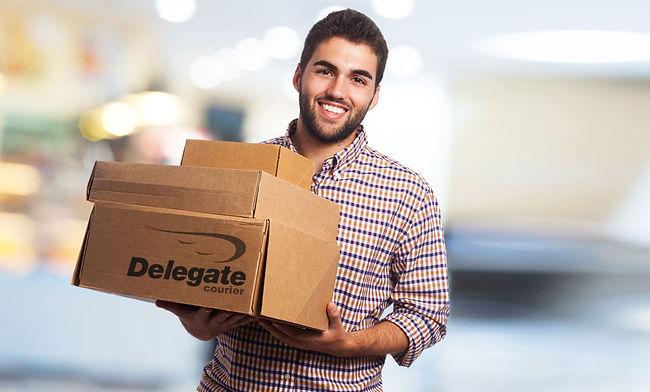Delegate куриер | Доставка в града, delegates, франчайз