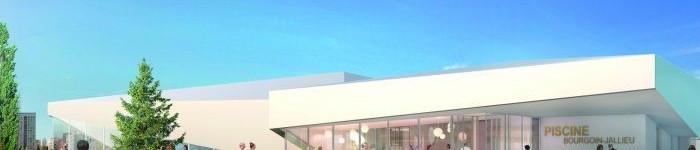 CONSTRUCTION DE LA PISCINE INTERCOMMUNALE SUR LA COMMUNE DE BOURGOIN JALLIEU (38)