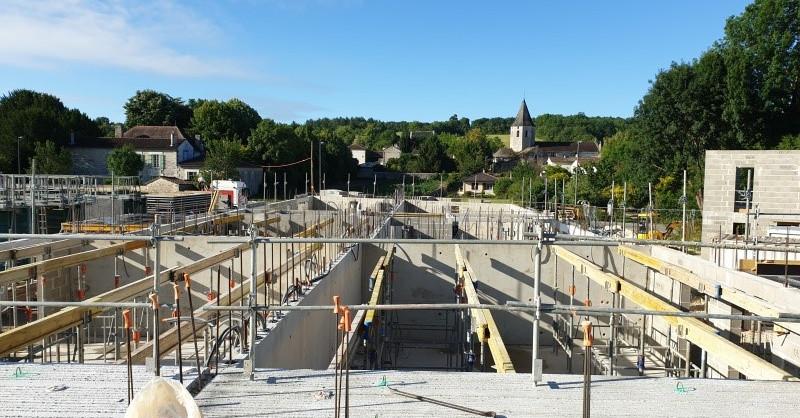 CONSTRUCTION DE 37 LOGEMENTS -RESIDENCE LES COLVERTS- A CHAMPNIERS (16)