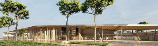 CONSTRUCTION D'UN LYCEE ET D'UN COLLEGE AU BARP (33)