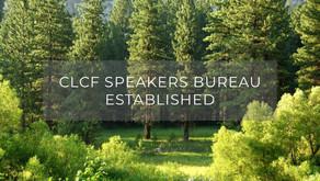 CLCF Speakers Bureau Established