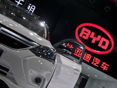 BYD Co., la compañía de vehículos eléctricos más grande del mundo.