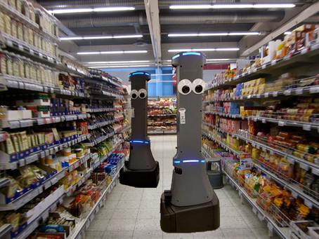 Un ejército de robots llamado Marty está llegando a algunas tiendas de comestibles en Maryland y Vir