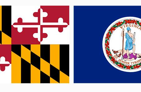 """Maryland y Virginia celebran estar en la lista de """"Mejores Clasificaciones Estatales""""."""