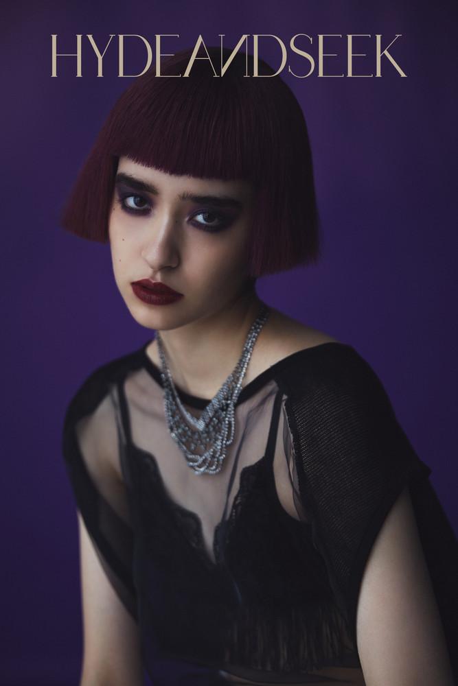 Lingerie_INTIMISSIMI (H3O Fashion Bureau) Top_ROGGY KEI (XANADU TOKYO) Necklace_DEPT