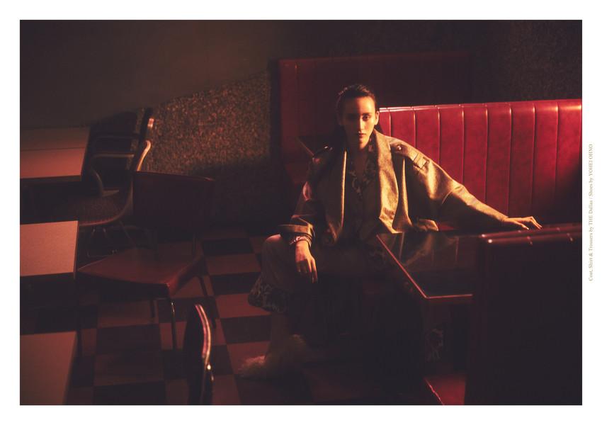 Coat, Shirt & Trousers_THE Dallas Shoes_YOHEI OHNO