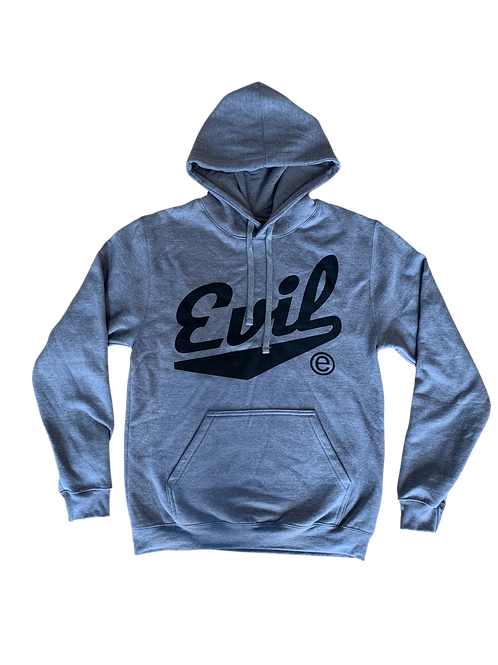 Heather Grey Hoodie - Evil E Collection