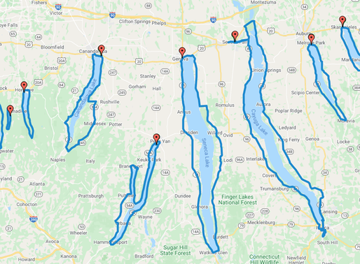 A Comprehensive Guide to Cycling All 11 Finger Lakes in New York State