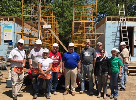 Ohio National gives a boost to Habitat for Humanity