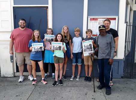 Youth Group Explores Mission Work in Our Backyard