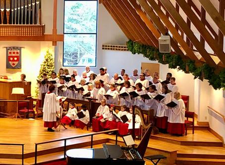 Volunteer Choirmaster Amy Hill Retiring