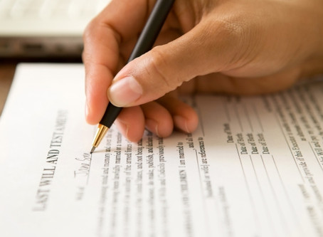 Either You Write a Will or the State Will